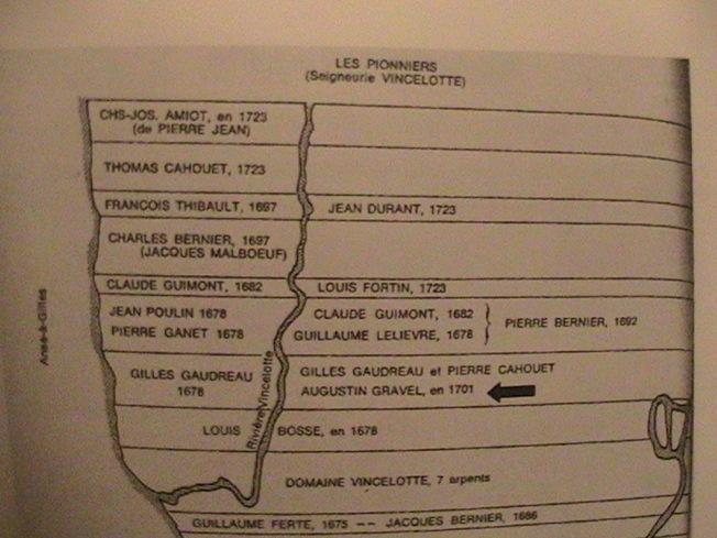 8 . An 1701 lot pour Augustin Gravel